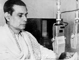 Birendra Krishna Bhadra, the man who has enchanted generations of Bengalis with his rendition of Mahishasura Mardini. Image courtesy: Wikipedia