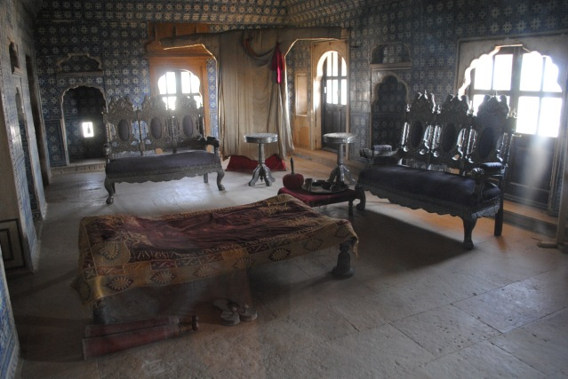 A royal bedroom