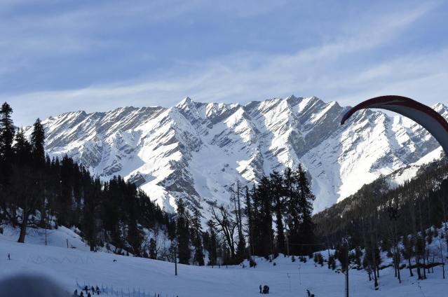 The splendorous Himalayas.  Pic courtesy: Priyanka Chowdhury